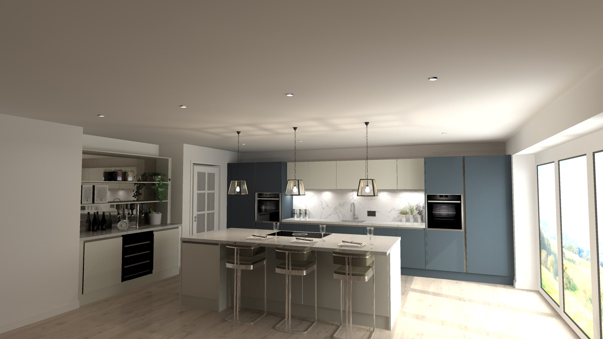 Exquisite, contemporary made-to-measure kitchens at Fold Farm – all about Daval